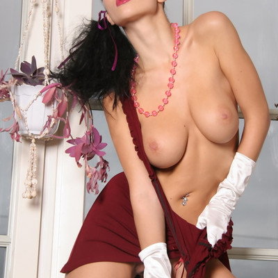 Katie Fey - Sexy With Gloves