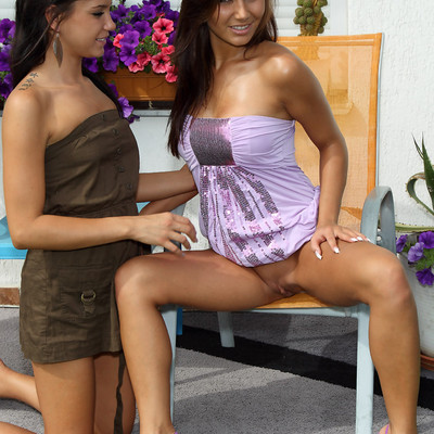 Als Angels - Touching Her Pussy With A Friend