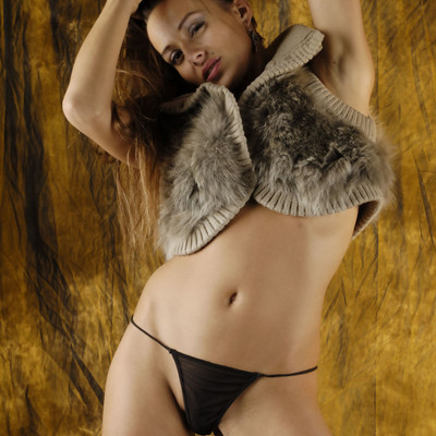 Erotic Beauty - Cow Hide Beauty Part 2